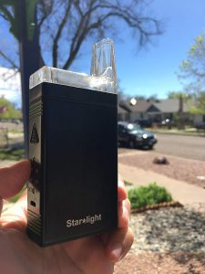 vaporisateur Weed Starlight test et avis cannabis smoke